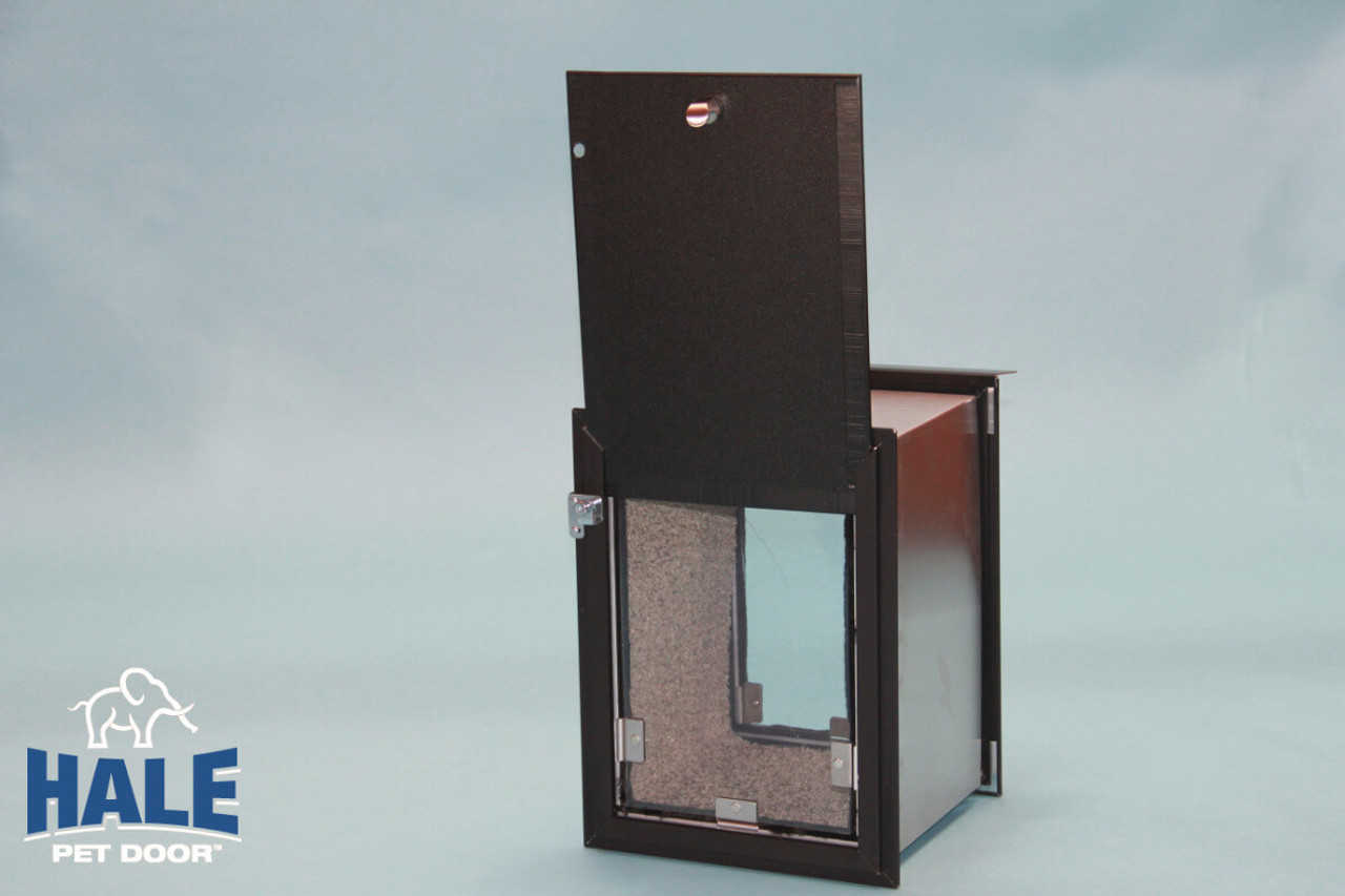 Attirant Hale Pet Door For Walls Can Be Had With Double Flaps For Extra Wind  Resistance