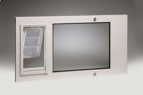 Thermo Sash 3e Window Mounted Cat Doors Have Dual Pane Low E Glass And  Feature The ...