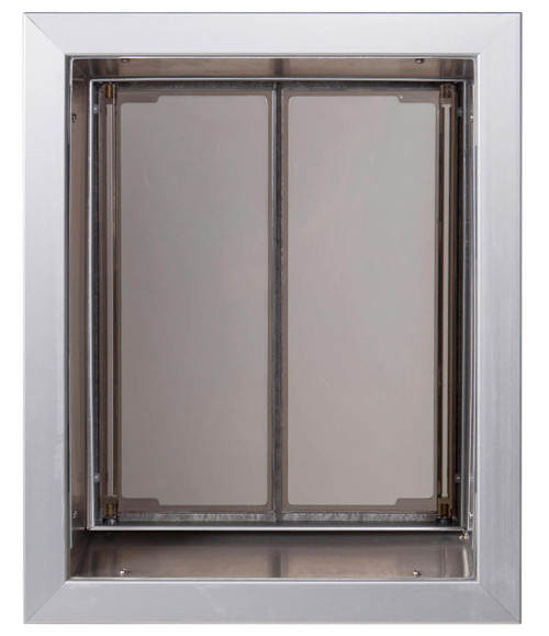 PlexiDor Wall doggy doors are weather tight and fit walls up to 12 inches deep