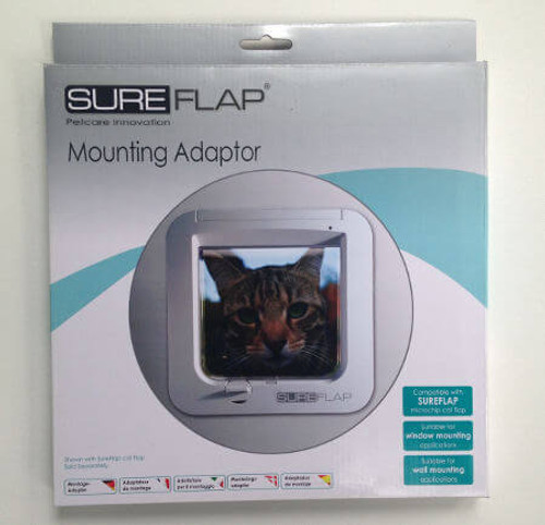 SureFlap Mounting Adapters Can Be Used To Install Their Electronic Cat And  Dog Doors On Thin ...
