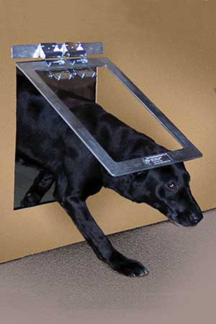 Gun Dog House Door heavy duty dog doors live up to their name and are tough ... & Dog Doors for Kennel Use | Pet Door Store
