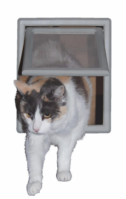 Ideal Screen Fit Kitty Flaps are an easy solution for a cat screen door