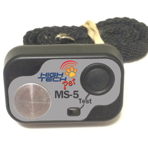 High Tech Pet Electronic Dog Doors come with the MS-5 ultrasonic key which operates the automatic pet door
