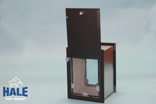Hale Pet Door for walls can be had with double flaps for extra wind resistance & Dog Doors for Walls - Pet Door Store
