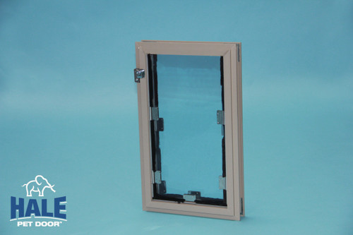 Hale Pet Doors come in 12 sizes and 4 colors