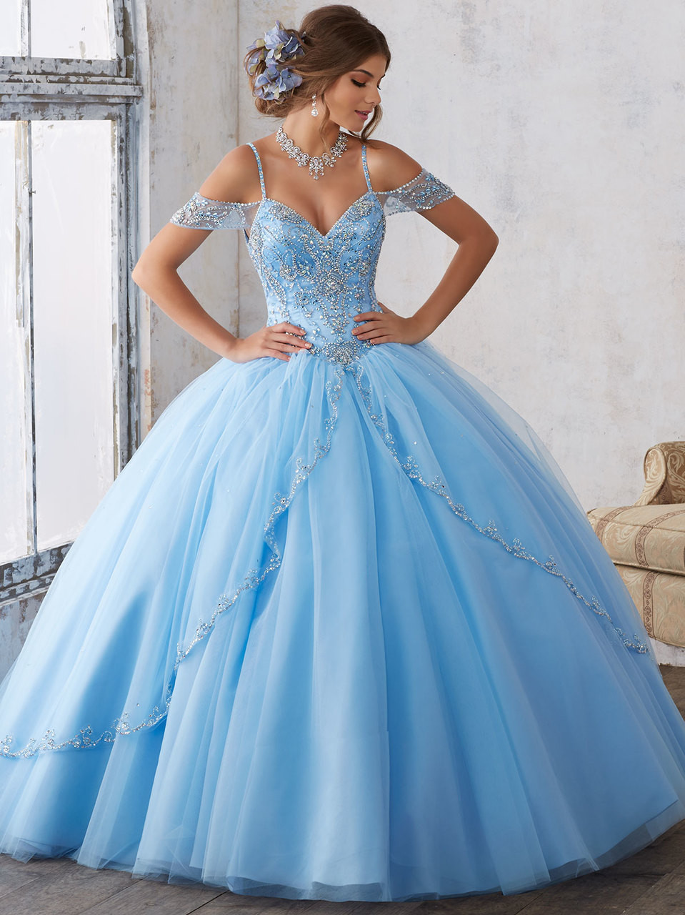 417670f23e1 agua teal viscaya quinceanera dresses – Fashion dresses