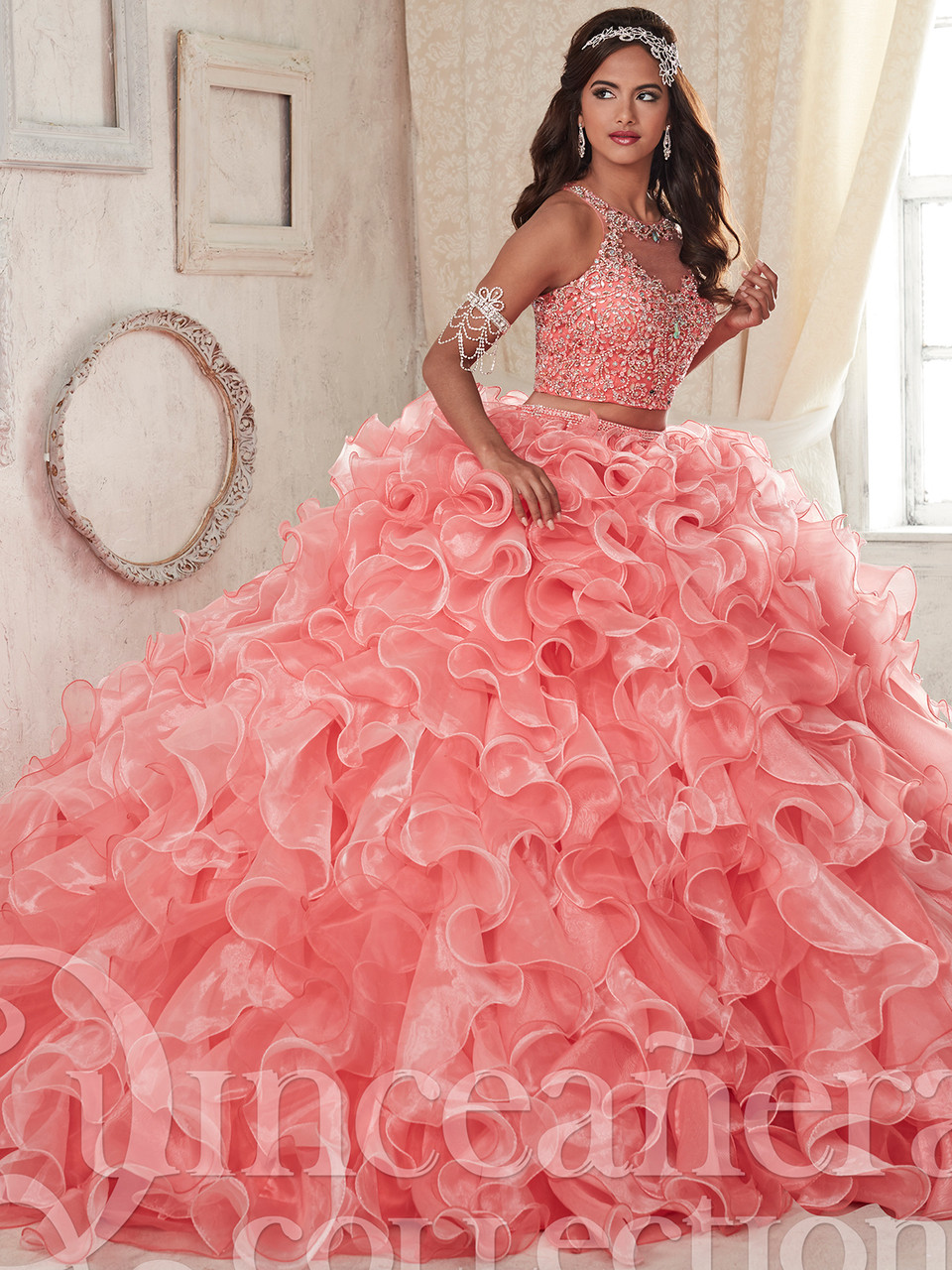 41fd13fa1f7 Tiffany Two Piece Ball Gown Quinceanera Dress 26830 .