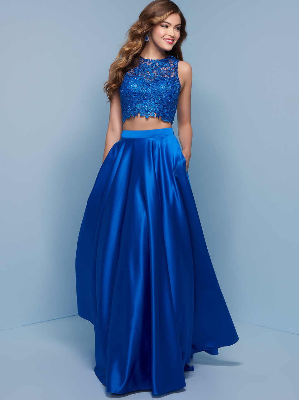 Old Fashioned Electric Blue Prom Dress Crest - All Wedding Dresses ...