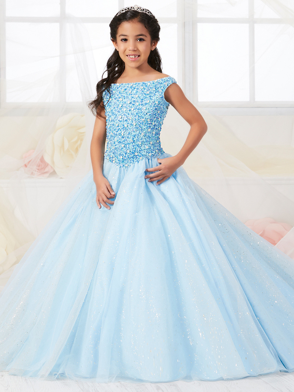 Off The Shoulder Tiffany Princess Ball Gown Dress 13547 ...