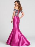 Two Piece Off The Shoulder Ellie Wilde Dress EW118038