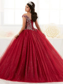 Cold Shoulder Quinceanera Collection Ball Gown Dress 26899