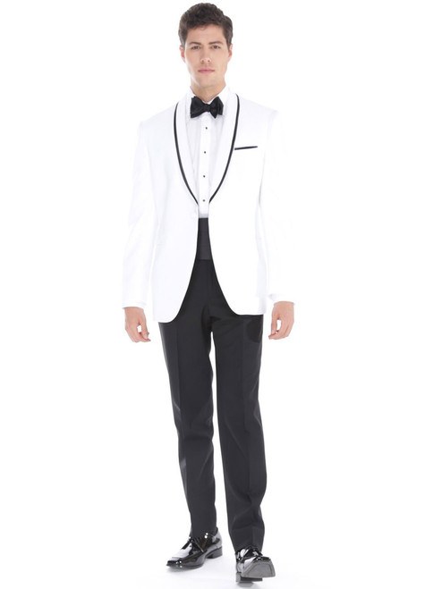 Awesome All White Tuxedos Prom Composition - Wedding Plan Ideas ...