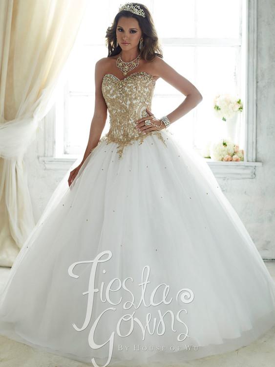 Tiffany Fiesta 56286 Sweetheart Quinceañera Ball Gown ...