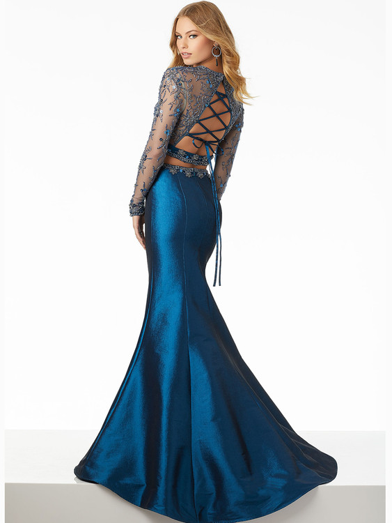 Mori Lee 42071 Taffeta Mermaid Prom Dress | DressProm.net