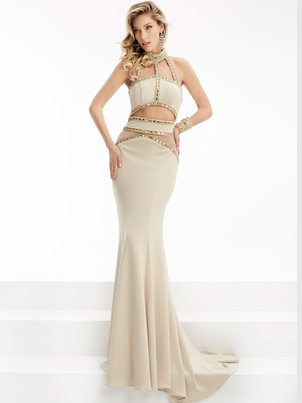 Fashion Forward Nude Prom Dresses