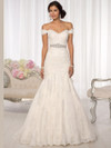 Essense Of Australia D1617 Cap Sleeves Wedding Dress