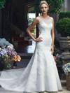 Casablanca 2217 Bateau Neckline Wedding Dress