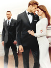 black tuxedo for weddings by michael kors 30.5 jacket length