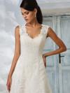 Justin Alexander 8822 Queen Anne Neckline Wedding Dress