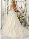 Mori Lee 2813 V-neck Beaded Bridal Dress