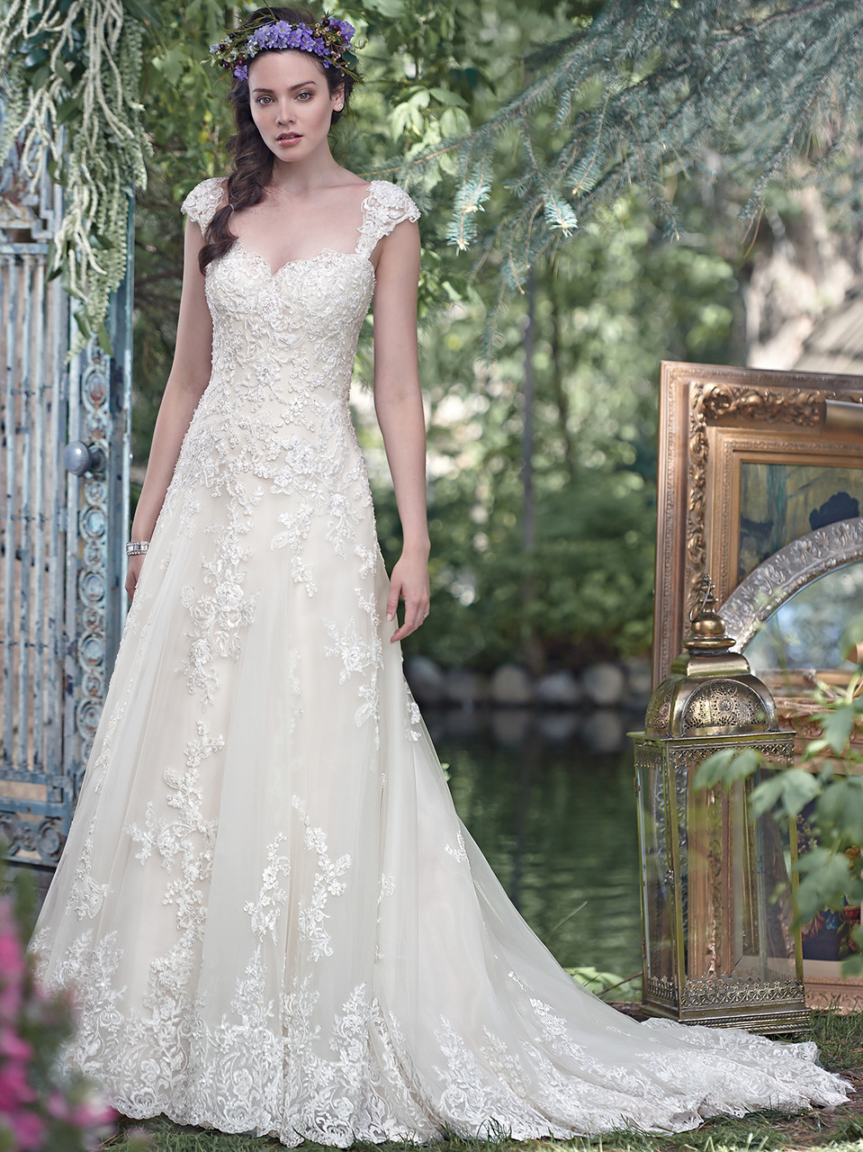 Maggie Sottero Laverna Sweetheart Bridal Gown - Dimitra Designs