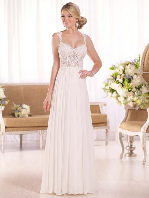 Essense Of Australia D2044 Sweetheart Wedding Dress