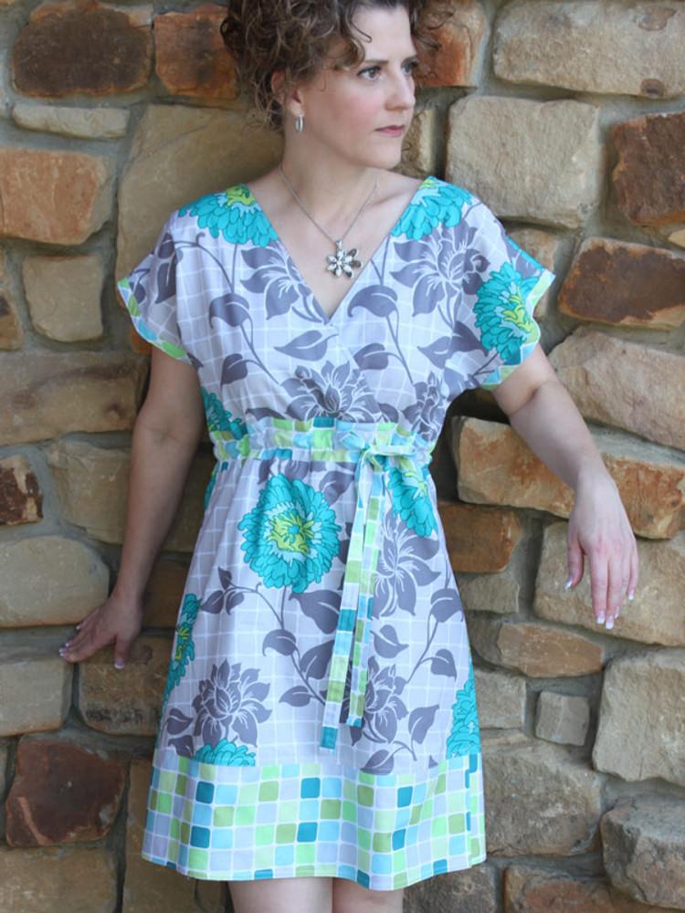 Diane Kimono Dress (PDF)