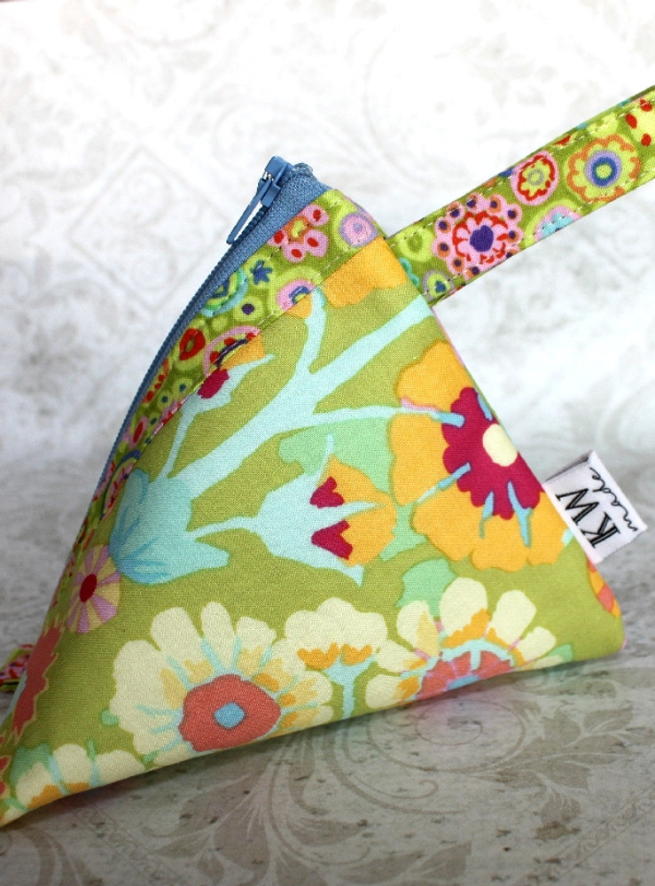 Good Fortune Triangle Pouch - Large