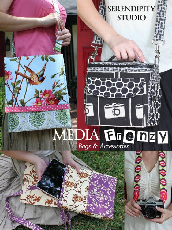 Media Frenzy (Pattern Booklet)