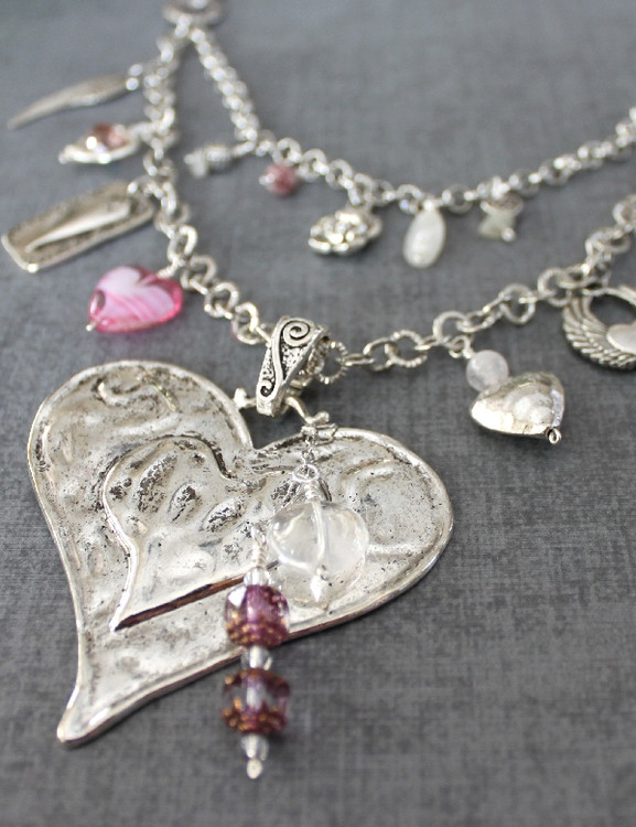 Charmed Hearts Necklace