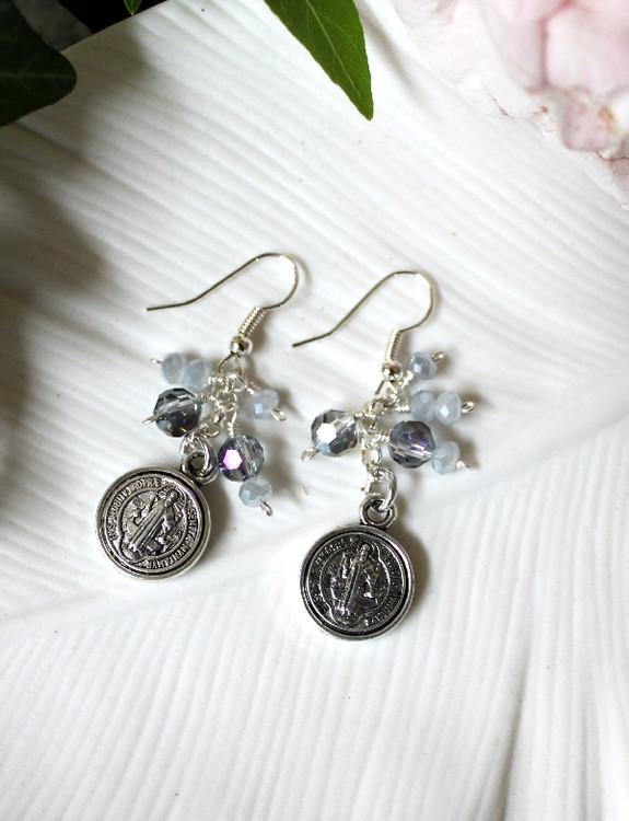 Medallion Coin Earrings