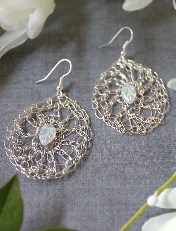 Crochet Wire Earrings