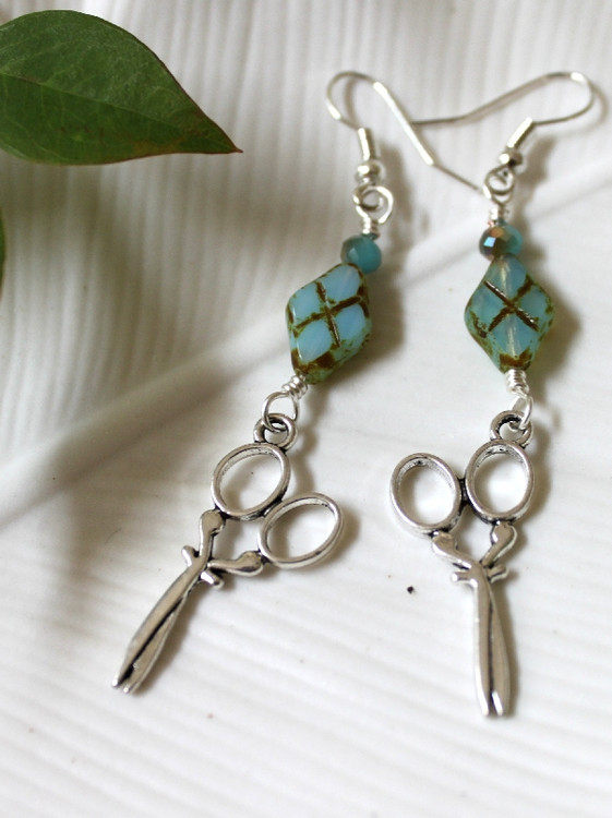 Stitch Charm Earrings