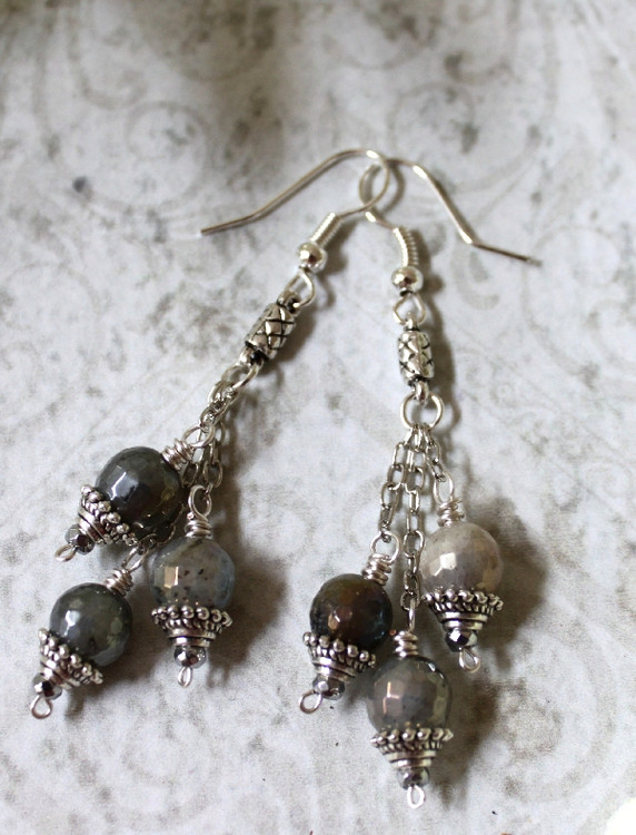 Graduated Dangle Earrings
