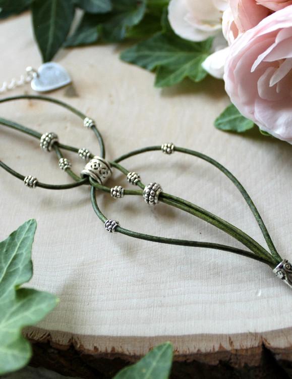 Leather Loop Bracelet