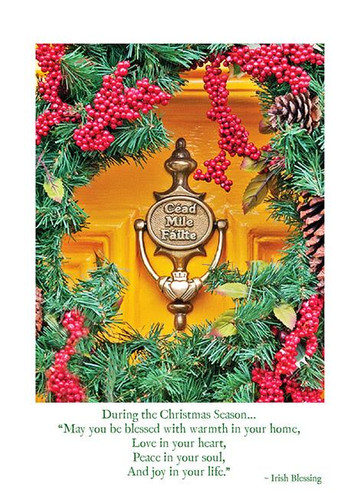 Celtic themed greeting cards page 1 mullys celtic cottage cead mile failte christmas card m4hsunfo