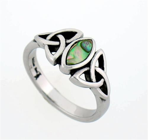 ring silver sterling sizes onyx celtic oval black rings htm p knot