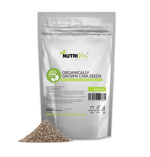 Premium Black Chia Seed Pure Grown Organic