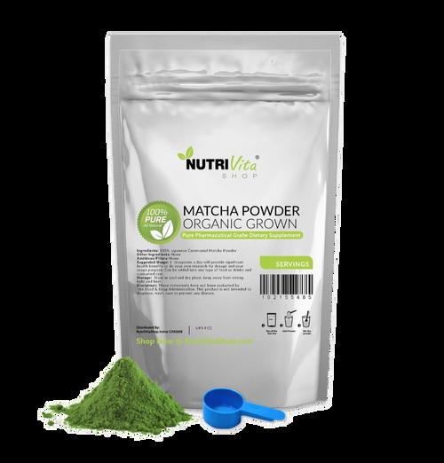 Japanese Matcha Green Tea Powder Organically Grown nonGMO