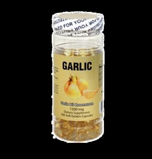 Garlic Oil (300 Softgels / 1500 MG)
