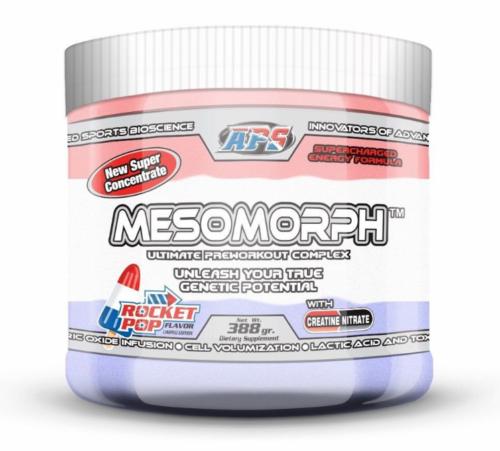 APS Nutrition MESOMORPH PRE-WORKOUT All Flavors