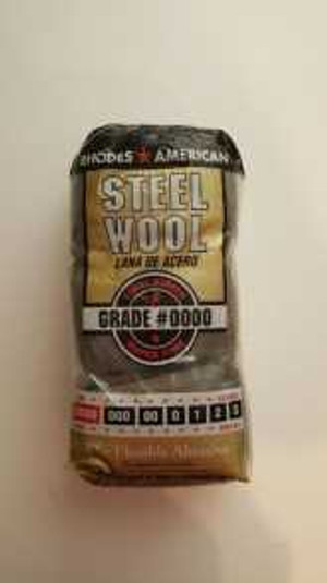Steel Wool Applicator- #0000 Very Fine for Rejuvenator & Brass Cleaner - 12 PER PKG. plus shipping