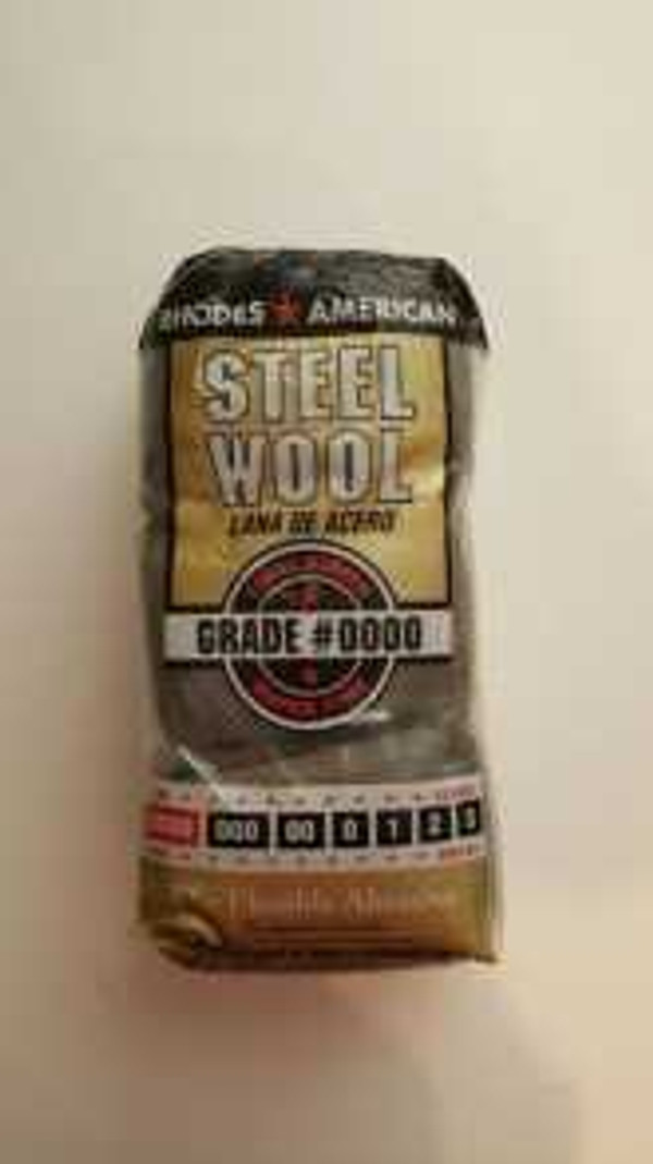 Steel Wool #0000  - 12 PER PKG.  FREE SHIPPING ON ORDERS THAT TOTAL OVER $35.00