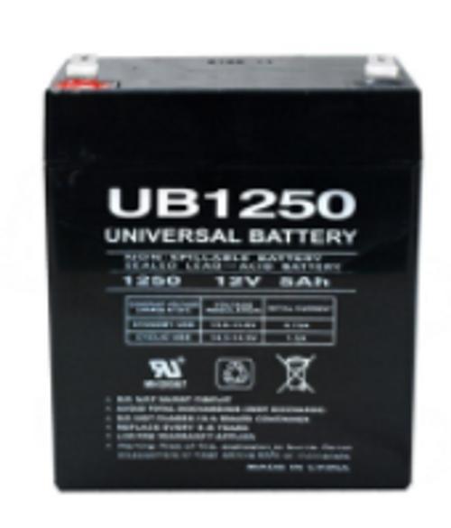 EMERGENCY EXIT BATTERY - 12 VOLT 5.0 AMP, UB1250
