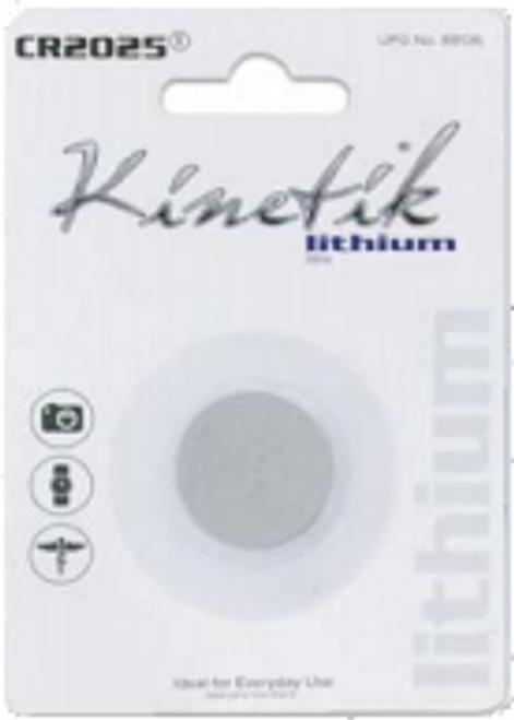 Kinetik CR2025 Battery