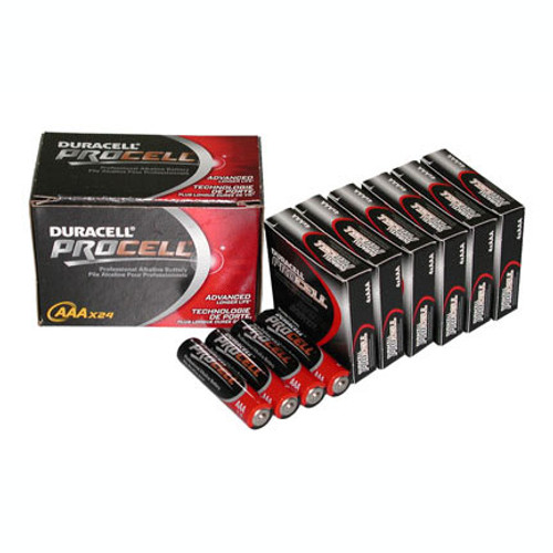24 PACK - DURACELL PROCELL AAA BATTERY