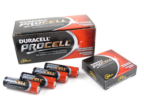 24 PACK - DURACELL PROCELL AA BATTERY