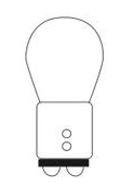 1157 Miniature Lamp  -  12.8/14v  2.1 amps  -  D.C. Index Bayonet Base