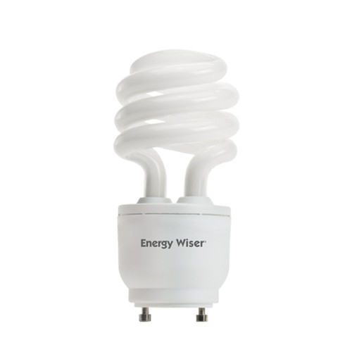 18 Watt Spiral Dimmable CFL GU24 Base 2700K