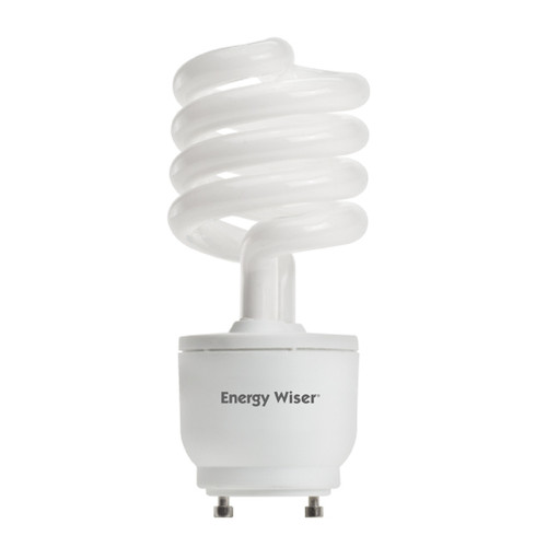23 Watt Spiral CFL Dimmable GU24 Base 2700K